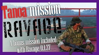Ravage Tanoa single player - install guide and play