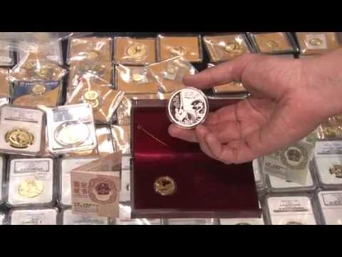 China Mint Releases Commemorative Coin Set for China France Relations. VIDEO: 2:04.