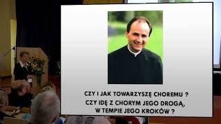 Obecność księdza E. Dutkiewicza SAC w życiu wolontariuszy hospicyjnych - dr Anna Byrczek