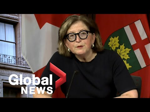 Coronavirus Outbreak: Ontario Officials Give COVID-19 Update As Cases Pass 1,700 | LIVE
