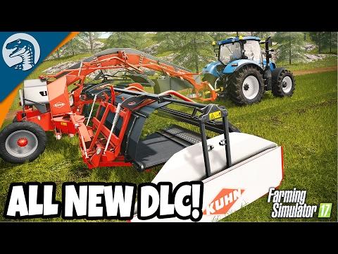 ALL NEW Kuhn Equipment Pack DLC Demonstration | Farming Simulator 17 Multiplayer Gameplay