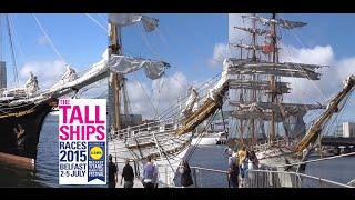 TALL SHIPS Belfast 2015, GULDEN LEEUW, CISNE BRANCO, EUROPA