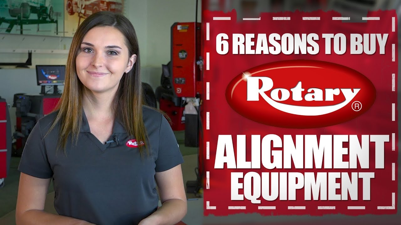 6 Reasons to Buy Rotary® Alignment Equipment.