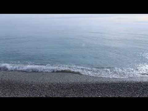 Sound of sea waves
