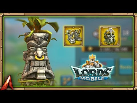 New Hardrox Gear Set & Monster! Best Hunting Team! Lords Mobile