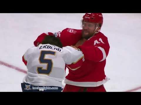 Aaron Ekblad vs Luke Glendening Dec 11, 2017