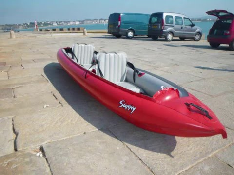 Test kayak gonflable gumotex sunny 390 youtube - Test kayak gonflable ...