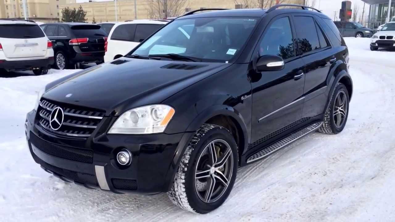 Pre Owned Lexus >> Pre Owned Black 2008 Mercedes Benz ML63 AMG Calgary - YouTube