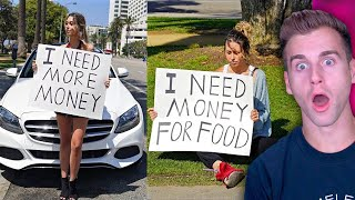 RICH GIRL vs. POOR GIRL Social Experiment!