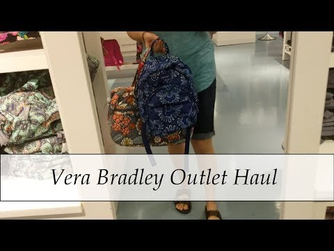 Vera Bradley Outlet Haul | July 2019