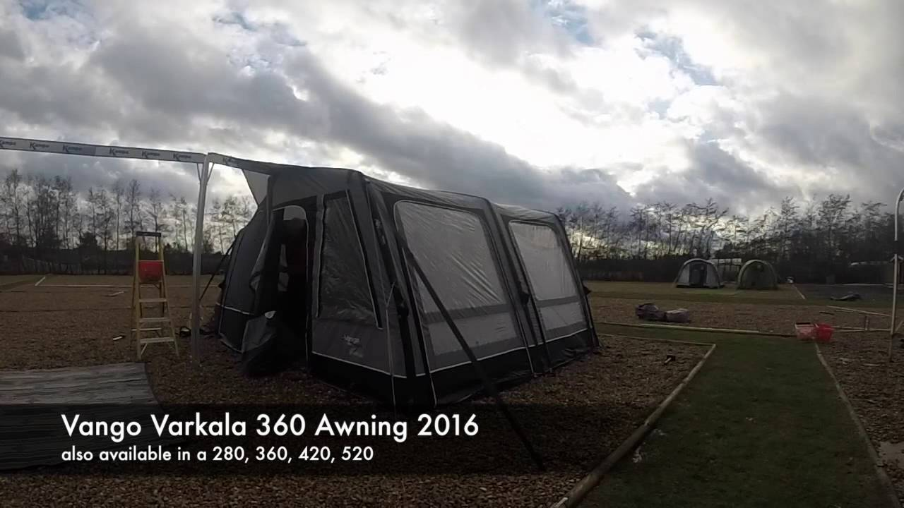 Vango Varkala 360 Awning 2016 Also Available In 280 420 And 520