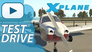 Just Flight Archer III | X-Plane 11 | Test Drive