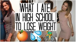 VEGAN What I Ate in High School to LOSE WEIGHT | Plant Based What I Eat in a Day