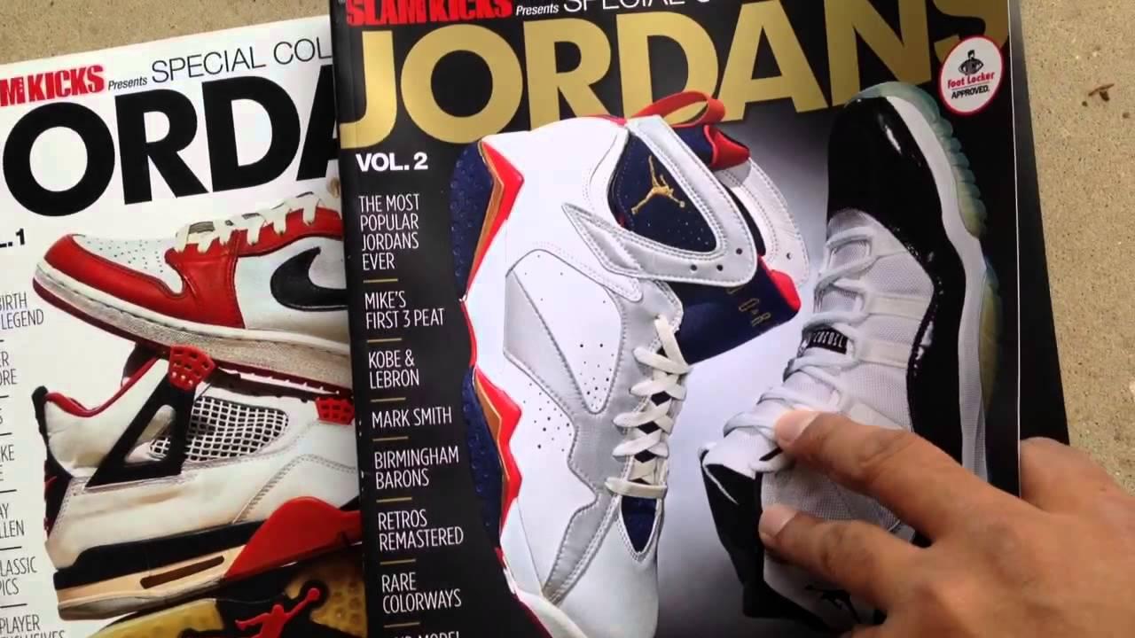 394143a5bcefed Air Jordan 1-11 Slam Kicks Magazine Review - YouTube