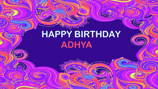 Adhya   Birthday Postcards & Postales