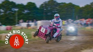 Inside the Indy 500 of Lawnmower Races