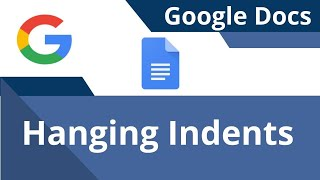 How to Add Hanġing Indents in Google Docs