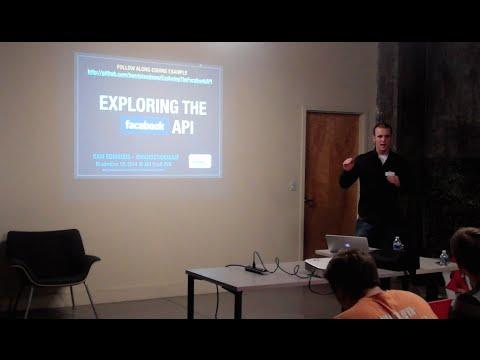 Exploring the Facebook API @ API Craft RVA Meetup - Nov 18, 2014