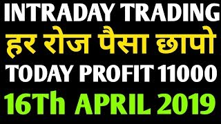 Jackpot Intraday Trading Stocks For Tomorrow 16th April 2019 / Intraday Trading / Share Market