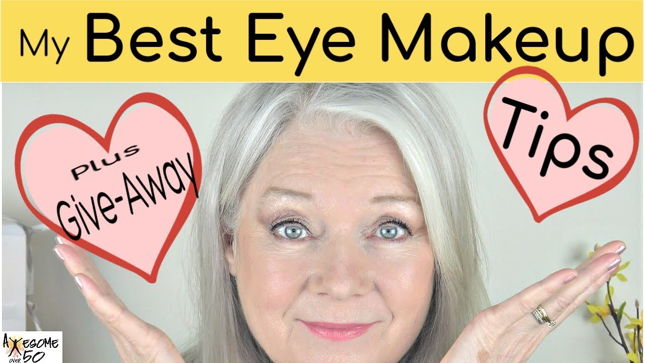 My Best Eye Makeup & Giveaway, Tips on Hooded Eyes, Circles etc, Women over  1111, Part 11 of 11