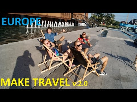 Make travel v2 0 - Hitchhiking in Europe (Poland, Sweden, Rammstain)
