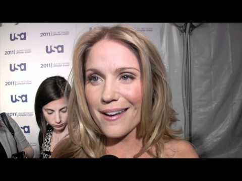 Virginia Williams of 'Fairly Legal' at the 2011 USA Network upfront
