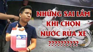 Lựa chọn nước rửa xe đúng cách !!! How to choose carwash shampoo??[Expresscenter.vn]