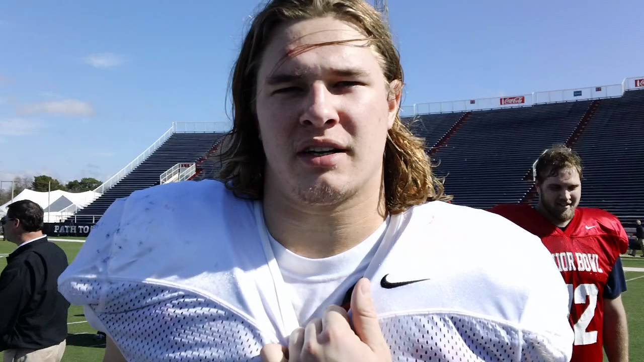 Audie Cole Senior Bowl Interview YouTube - Audie cole