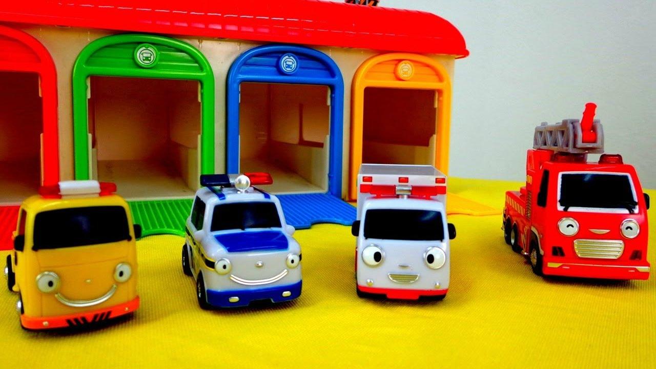 Download Dibujos animados de coches. Vehículos de servicio. Episodio 1