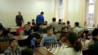 Лига Чемпионов Алматы среди детей по шахматам(Школа