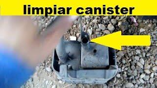 Como Limpiar EVAP Canister de tu carro (no puedes hechar gasolina, expulsa la pistola)