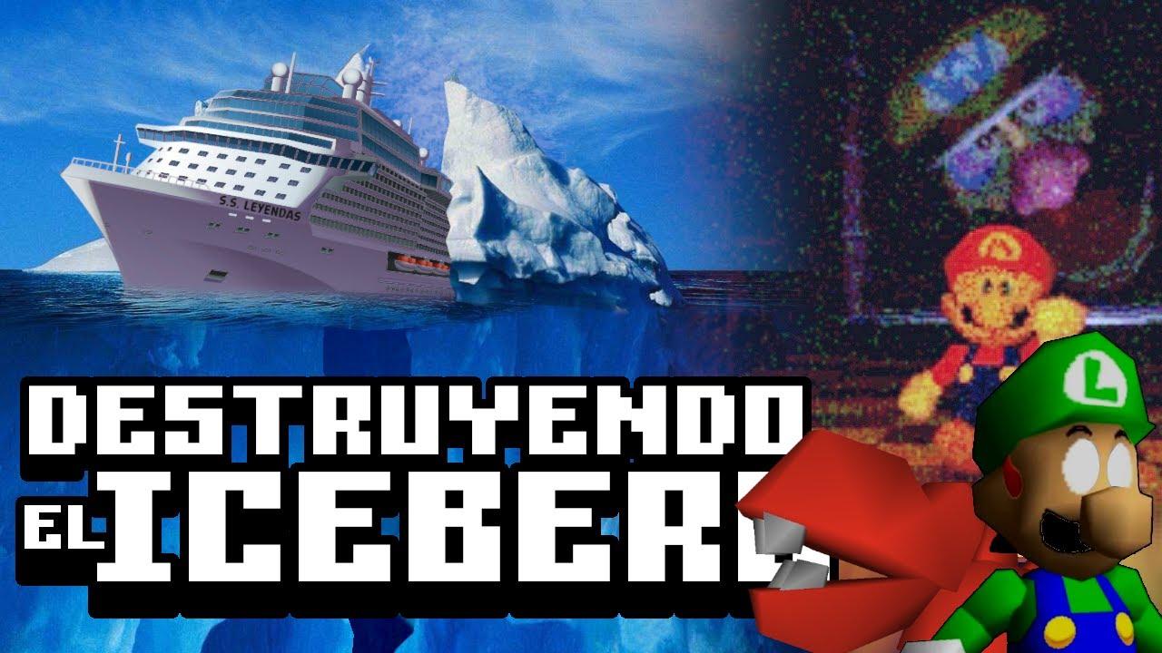 Destruyendo el Iceberg de Super Mario 64 - Leyendas & Videojuegos