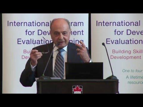 IPDET 2015 Guest Speaker - Robert Picciotto