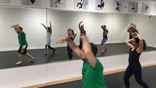 """Lyrical Jazz Drop-in Choreography Lynsey Billing """"What About Us"""" August 28, 2017"""