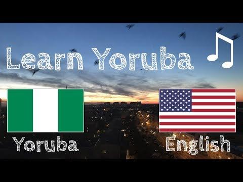 Learn before Sleeping - Yoruba (native speaker)  - with music