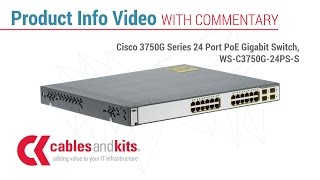 Product Info: Cisco 3750G Series 24 Port PoE Gigabit Switch, WS-C3750G-24PS-S