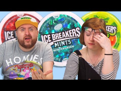 Irish People Taste Test Ice Breakers Candy
