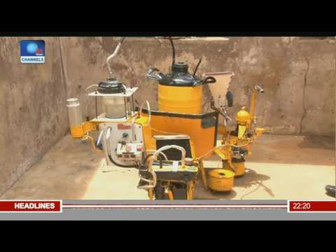 Young Nigerian Invents Machine That Converts Wastes To Energy