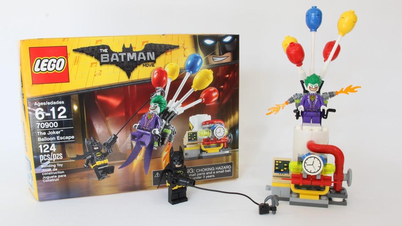 lego batman joker balloon escape unboxing speed build. Black Bedroom Furniture Sets. Home Design Ideas
