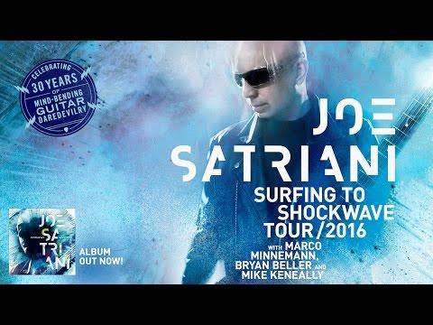 Joe Satriani North America Shockwave Tour 2016 Announce