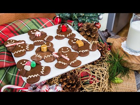 Ali Fedotowsky-Manno's Cocoabread  Men Cookies - Home & Family