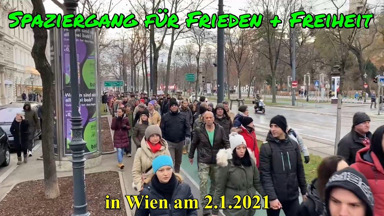 WIEN: SPAZIERGANG für Frieden & Freiheit am 2.1.2021