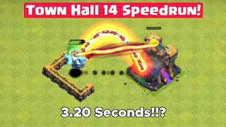 Town Hall 14 Speedrun! ALL Troops vs Giga Inferno (TH14)   Clash Of Clans