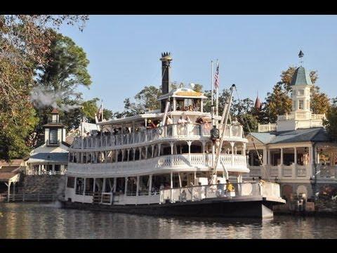 Magic Kingdom Liberty Square Riverboat POV Full Ride Walt Disney World HD