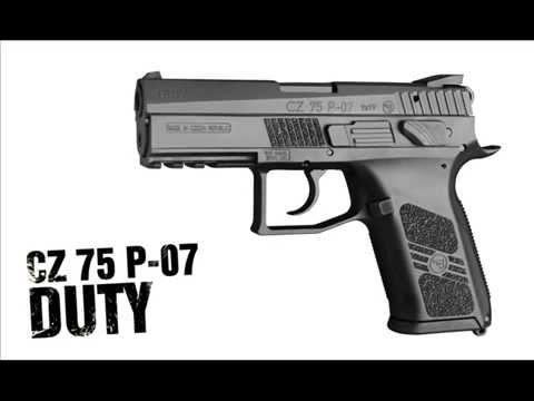 CZ 75 P-07 Duty Conversion Steps