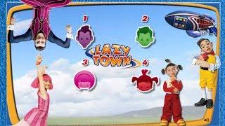 ZIGGY LAZY TOWN CHALLENGE: Stingy - Robbie - Trixie - Stephanie