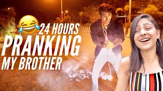PRANKING MY BROTHER for 24 Hours | Rimorav Vlogs