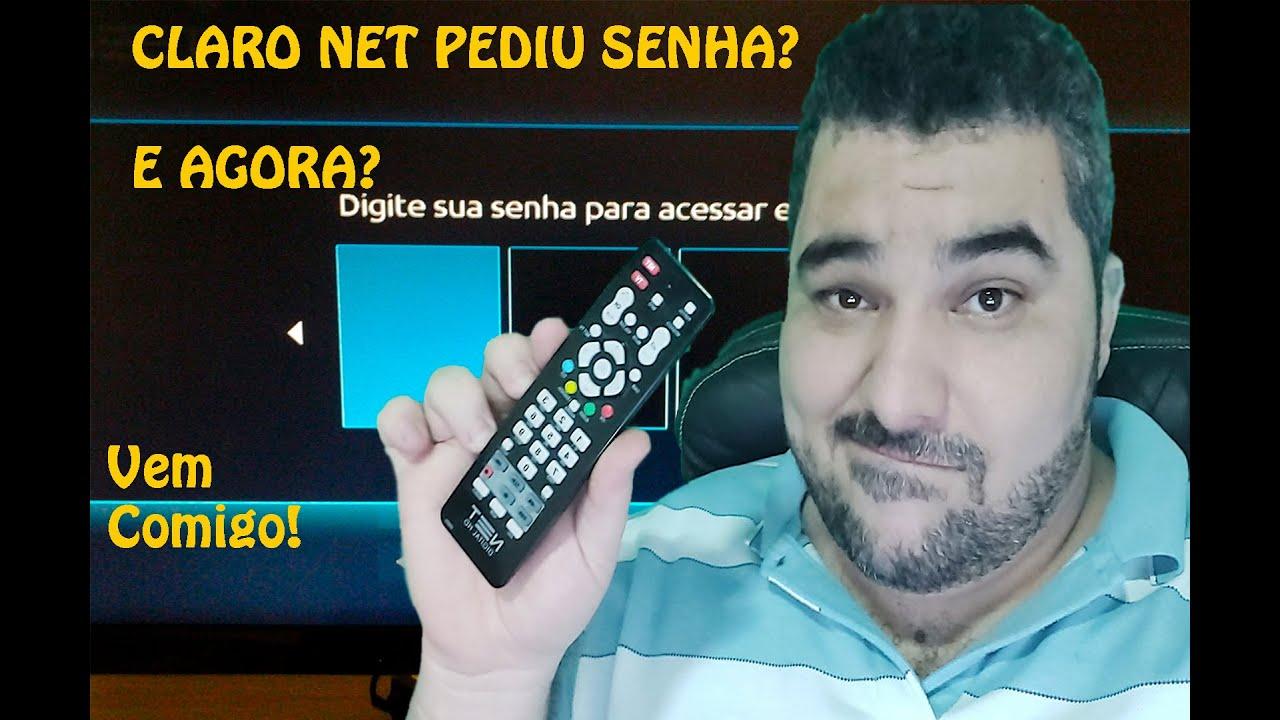 Claro ou Net TV Pedindo Senha de Instalação do MENU OCULTO, Busca Reset Claro/Net TV ATUALIZADO 2020