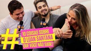 10 coisas sobre o Luan Santana que você não sabe | Adriane Galisteu