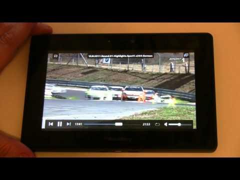 BlackBerry PlayBook im ausfuehrlichen Testbericht